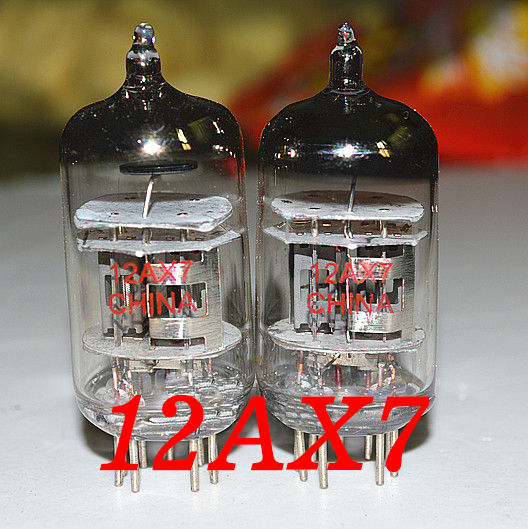 Free shipping export 12AX7 tube 12AX7 6N4 7025 upgrade Tubes Valve Guitar Amp Amplifiier