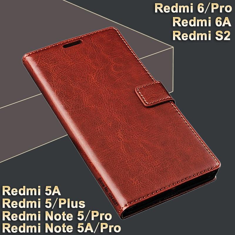 Pouzdro Xiaomi Redmi note 5 Pro Pouzdro Crazy Horse pro pouzdro - Příslušenství a náhradní díly pro mobilní telefony