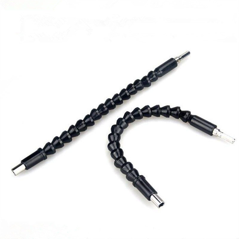 Electric Drill Universal Snake Flexible Shaft Hose Screwdriver Cardan Soft Extension Rod