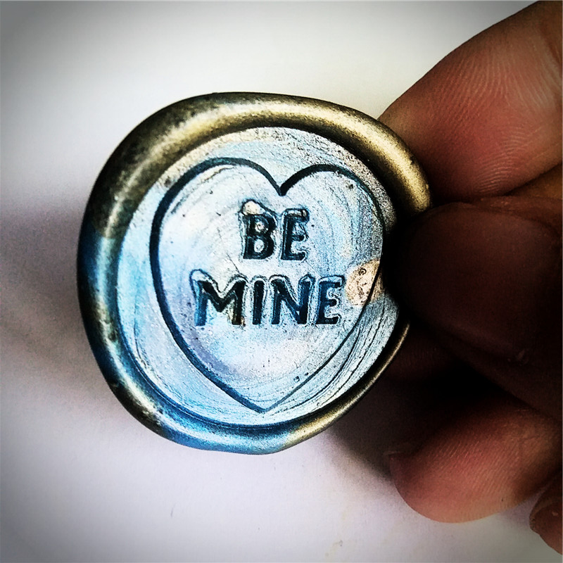 Be Mine wedding Wax Seal Stamp,Sealing wax stamp, stamp box set,envelop seal wedding invitation seal killer mine