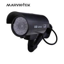 Outdoor Fake IP Camera wifi bullet security video Surveillance dummy camera cctv videcam Mini Camera battery power Flashing LED