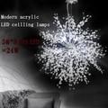 Chandeliers LED Globe Living Room Bedroom Metal Ceiling Lights