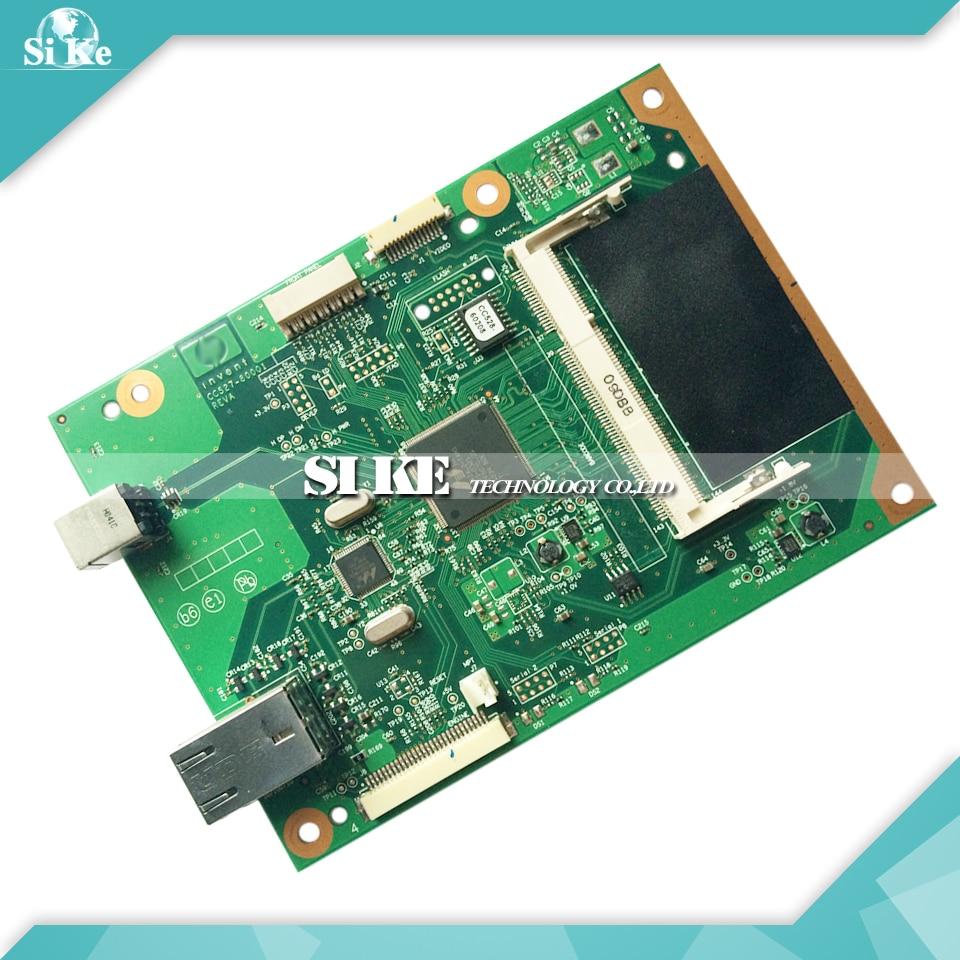 ФОТО Laser Printer Main Board For HP P2055N P2055DN 2055N CC528-60001 HP2055DN HP2055N Formatter Board Mainboard Logic Board