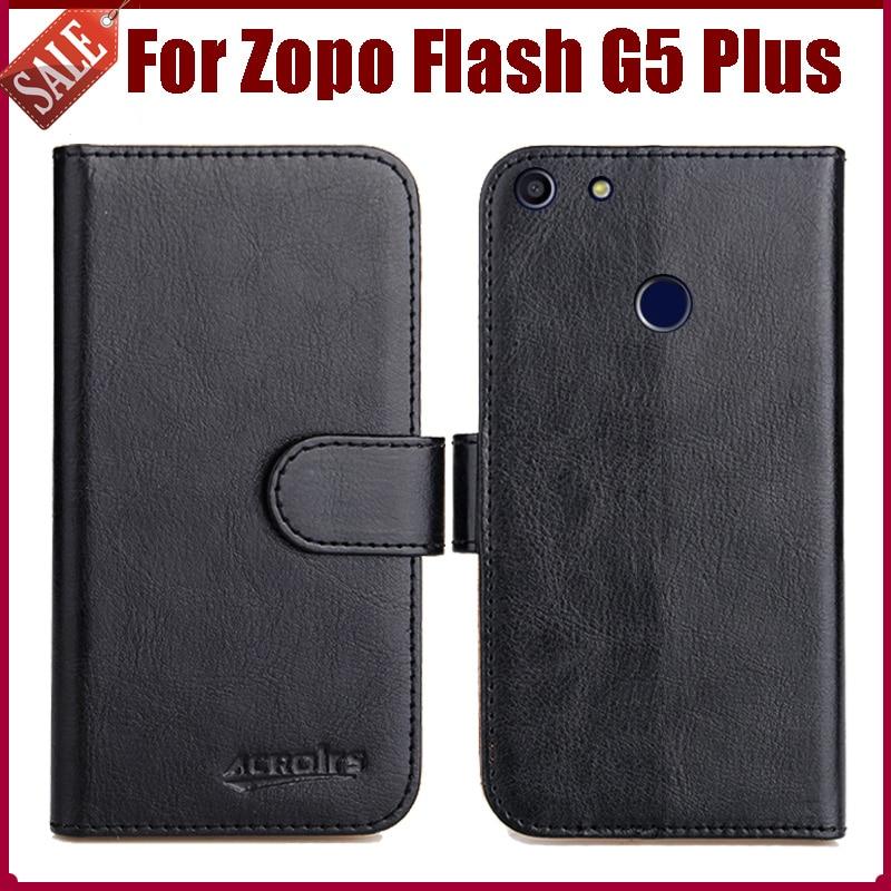 d706c11bcfea Лидер продаж! ZOPO flash G5 Plus Новое поступление 6 цветов Высокое  качество кожи сальто Защитная крышка для ZOPO flash G5 Plus