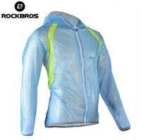 RockBros Hooded Waterproof MTB Road Cycling Raincoat Ultra Light Anti Dust Outdoor Hiking Climbing Fishing Travel