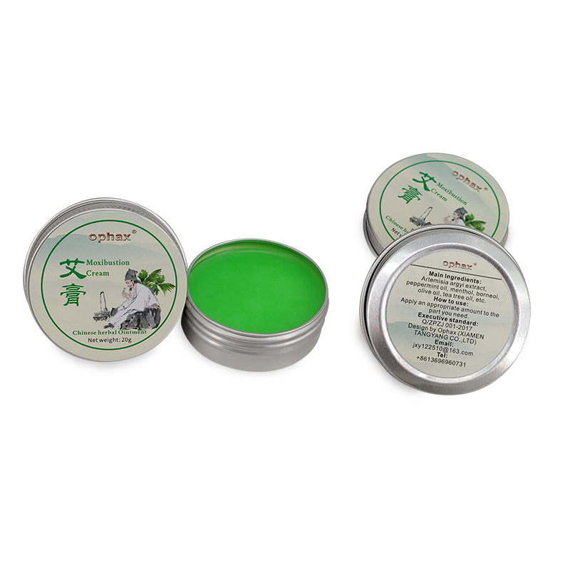 US $2 83 41% OFF|OPHAX Medical Plasters Herbal Moxa Moxibustion Cream Anti  Mosquito Bite Refreshing Anti inflammation Tsao Mugwort Neck Pain-in