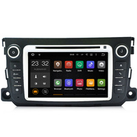 1024*600 4 ядра android 7.1 7 дюймов dvd-плеер автомобиля для Mercedes Benz смарт 2011 2012 2013 2014 с GPS 4 г Wi-Fi Bluetooth RDS