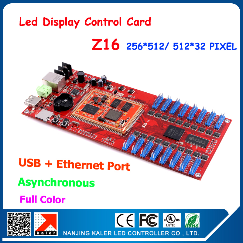 Promotion !! Kaler Z16 Video LED Display Card Full Color Led Screen Video Card Network Communication Controller Led Control Card