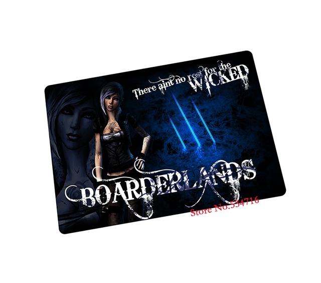 borderlands mouse pad gear E sports game pad to mouse notebook computer  mouse mat brand gaming mousepad gamer laptop-in Mouse Pads from Computer &