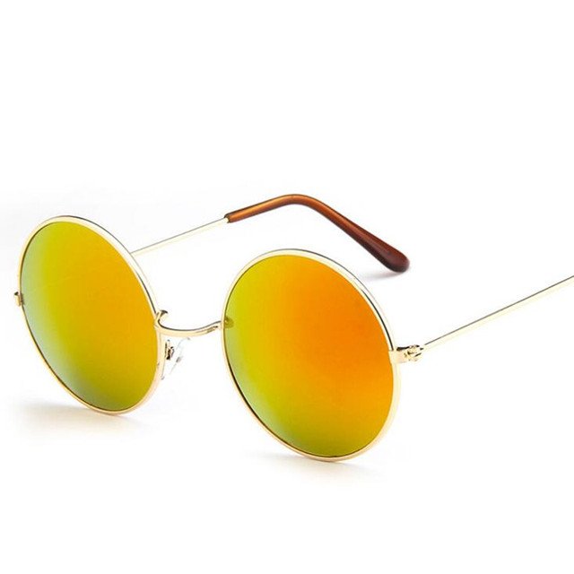 2019 New Classic Round Sunglasses Women Small Vintage Retro Glasses Women Driving Metal Eyewear Sun Glasses Men Womens UV400