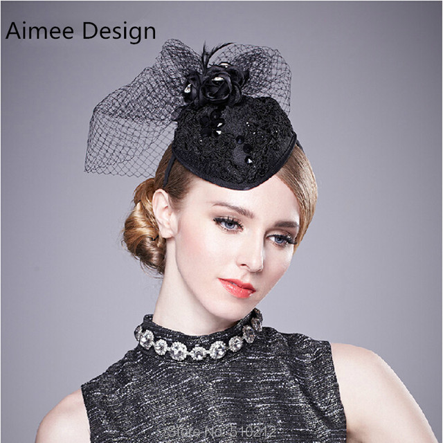 Fashion Flower Mini Top Hats With Clips Wedding Hats And Fascinators