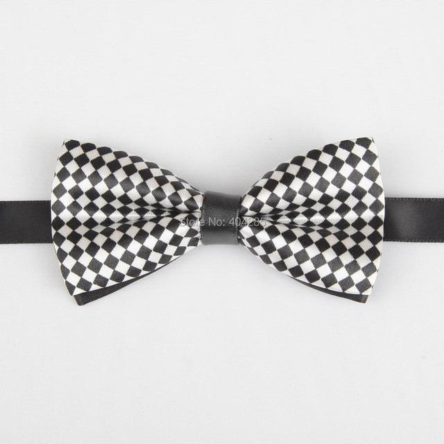 c3fda5e6e8c6 PU print baby bowtie pattern boys butterfly bow tie kids gift striped ties  dotted for children