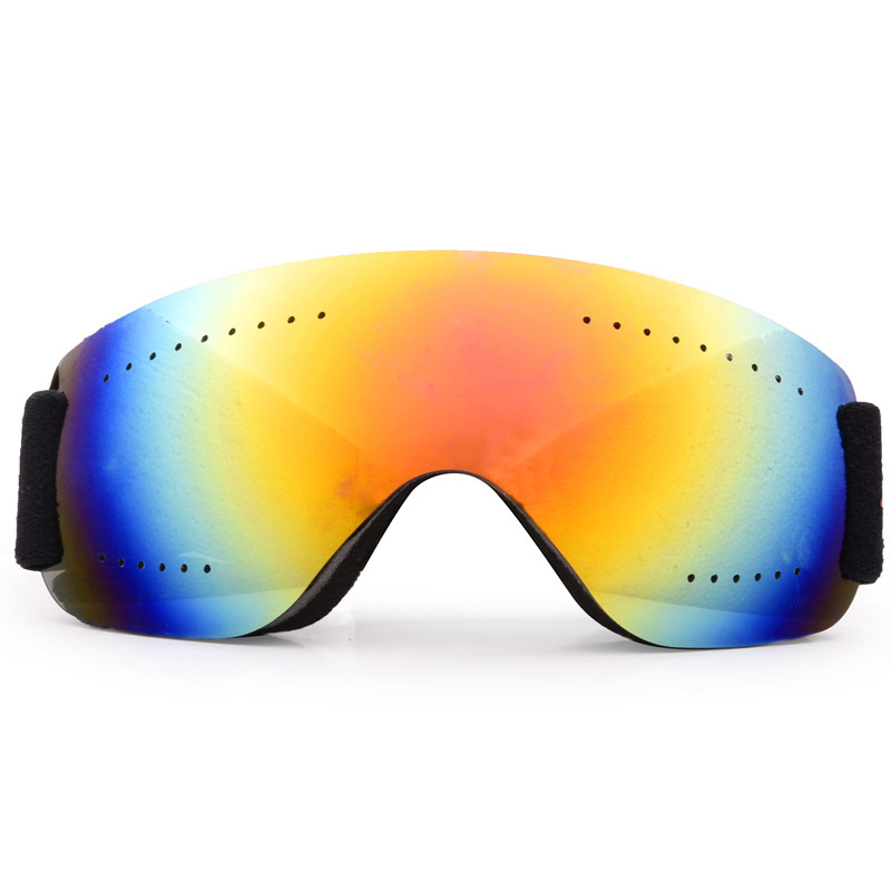Skiing Mirror Defence Fog Sandwind Motorcycle Cross-country Goggles Men And Women Adult Mountaineering Snowfield Goggles