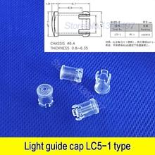 10 шт. 5 мм прозрачный светодиодный светильник, излучающий диод абажур Защитная крышка и оттенки