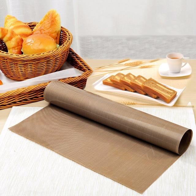 Whism Non Stick Reuse Baking Mat Tray Teflon Silpat Cake Cookie Macaron Biscuit Sheet