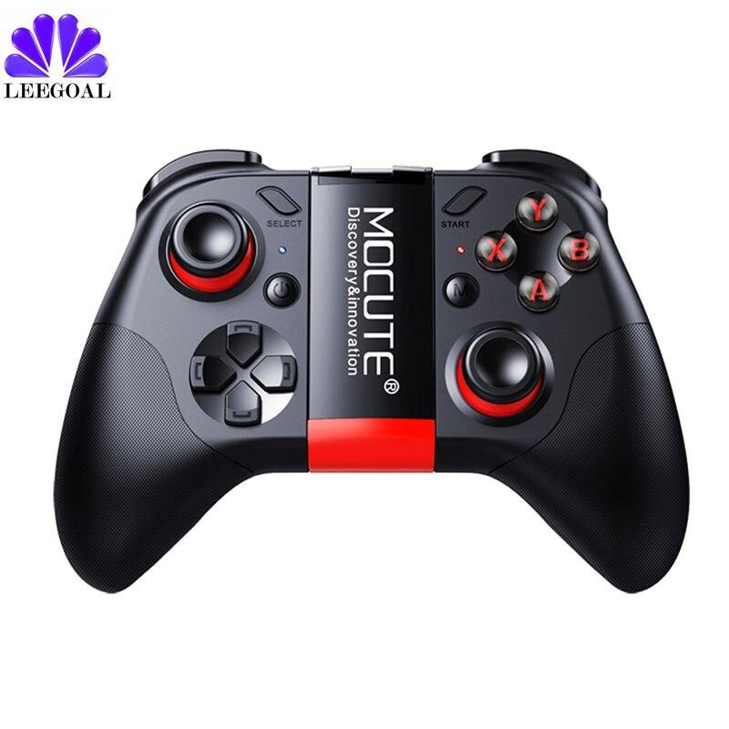 MOCUTE 054 Gamepad Wireless Bluetooth 3.0 Controller di Gioco Joystick Mini Gamepad Per Android/iSO Telefoni Smartphone Android TV BOX