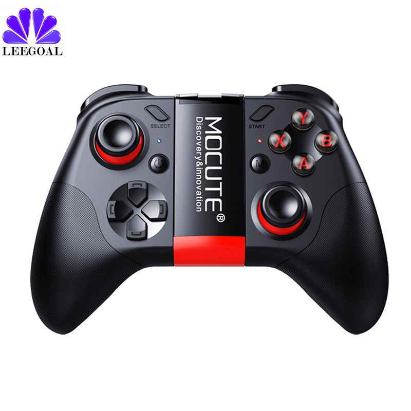 MOCUTE 054 Wireless Gamepad Bluetooth 3.0 Game Controller Joystick Mini Gamepad For Android/iSO Phones Android Smartphone TV BOX