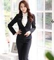 Plus Size 4XL Formal Spring Autumn Professional Business Suits Formal Uniform Design Jackets And Pants Female Trousers Sets