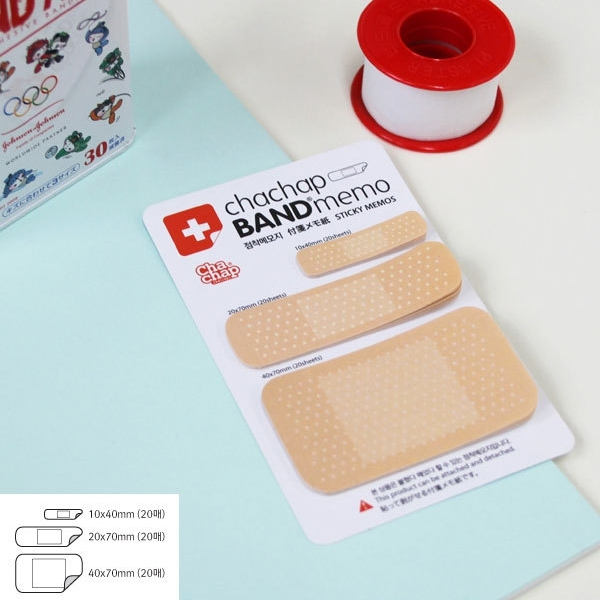 8pcs Cute Band aid Series Memo pad Post it stickers Sticky notes paper Notepad kawaii stationery office papeleria supplies notas