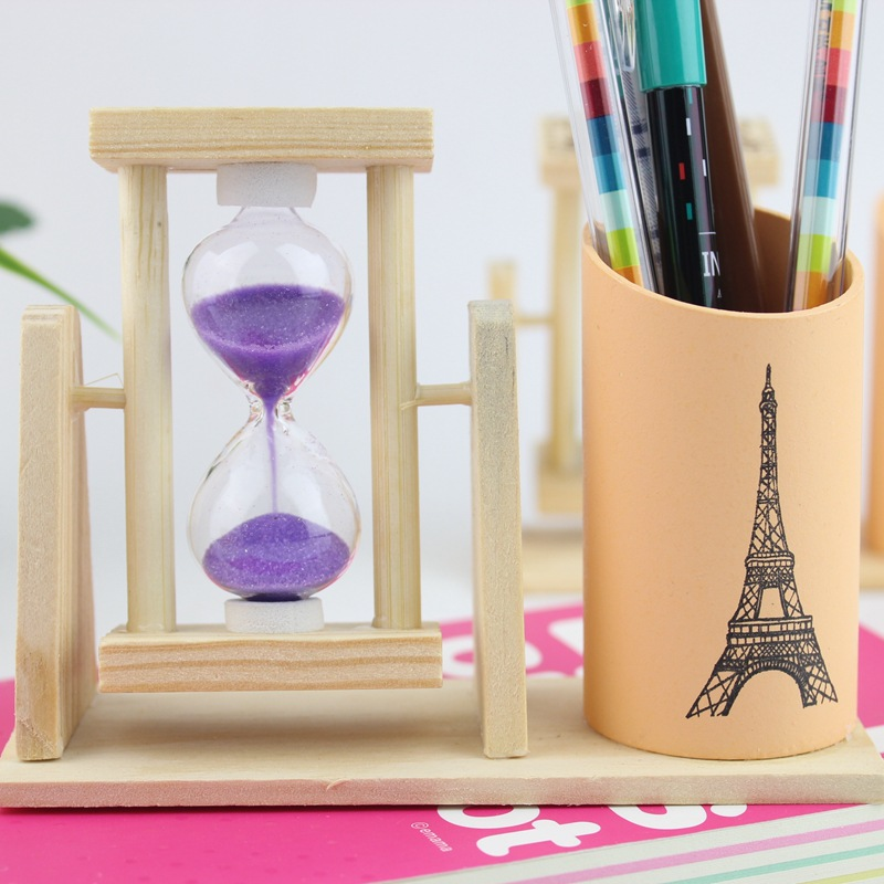 Wooden Pen Creative Fashion Office Supplies Stationery Desk Box Wood Cute Ornaments Office Accessories Pen Holder Pencil Holder купить