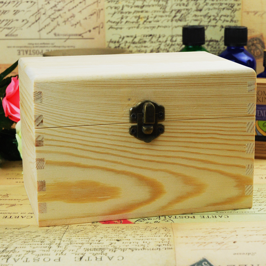 Essential Oil Wooden Storage Box 10x5ml Or 10ml Amp 5x15ml