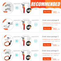 HDP828 Electric Pruner Pruning Shears Promotion Package Add Spare Parts At Lower Price