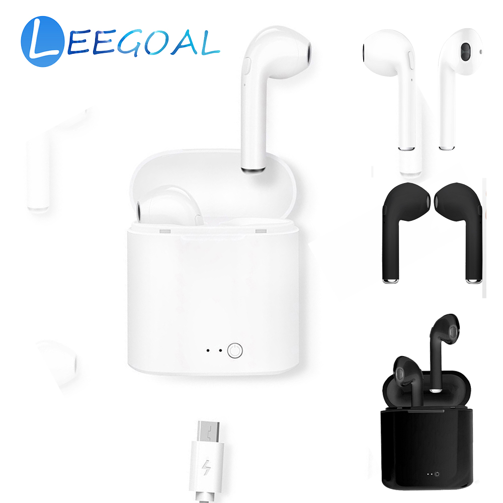 I9s TWS Mini Wireless Bluetooth Earphone Stereo Invisible Portable Earbud Headset With Charging Box For Android IOS VS TWS-I7