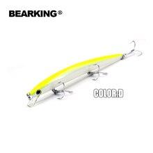 Bearking 2017 Fishing Lure Each lot 5 pcs Minnow 18cm 26g Depth Wobbling Minnow Lure Plastic Hard Bait Fishing Wobblers