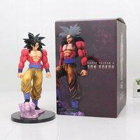 25cm Dragon Ball Z Super Saiyan 4 Son Goku SS4 PVC Action Figure Toy