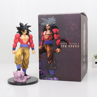 25cm Dragon Ball Z Super Saiyan 4 Son Goku SS4 PVC Action Figure Toy