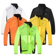 MTB велосипедные дождевики дышащие Светоотражающие Водонепроницаемые куртки для велоспорта с длинным рукавом мужские ветрозащитные уличные спортивные плащи