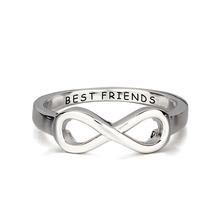 Infinity Ring With Personalized Engraving