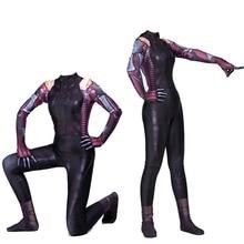 Alita Battle Angel Movie Cosplay Costume James Cameron New 2019 Halloween Costumes For Women Sexy Zentai Bodysuit Suit Jumpsuit