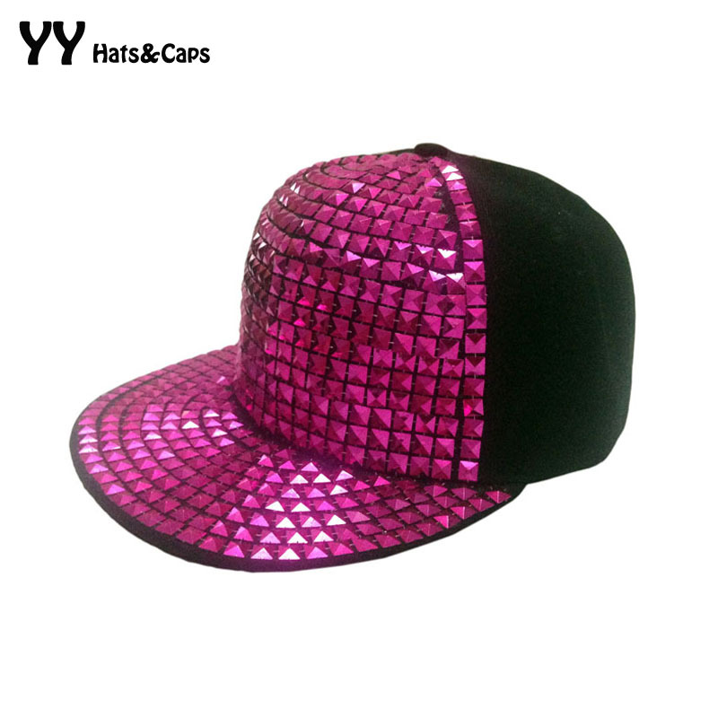 Shiny Rhinestones Hats For Men Women Fashion Flat Cap Hip Hop Adjustable Baseball Caps Diamond Snapback Hat Cayler Sons YY0392 668 usb 3 1 type c card reader