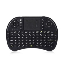 Hot Sale Backlight 92 Keys Mini Wireless Handheld Keyboard Russian And English Version Touchpad for Android Laptop Computer