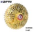 ZTTO 10 S 11-42T кассета Золото 10 скоростной горный велосипед стальной Золотой звездочки для частей системы Аксессуары для велосипеда