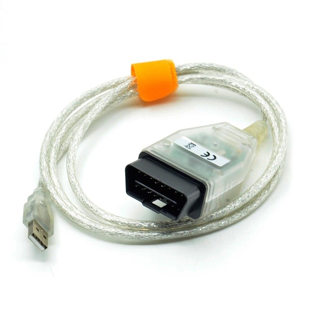Один USB-кабель с вилкой Mini-VCI J2534 для TOYOTA TIS Techstream V12.00.127 диагностический кабель диагностический мини-разъем с FT232RL чип
