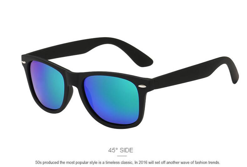 Fashion Brand designer Mens Retro Mirror Sunglasses for Women and Men Sports Driving Polarized Coating UV400 Eyewear Sun Glasses 8