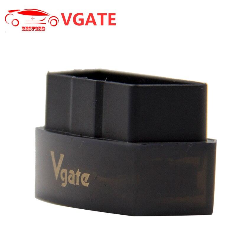 Prix pour Vgate Icar Pro ELM327 V1.5 Bluetooth 3.0 OBD2 Icar1 De Diagnostic-outil Mieux Que Vgate Icar2 Icar3 Outil D'analyse OBD soutien J1850