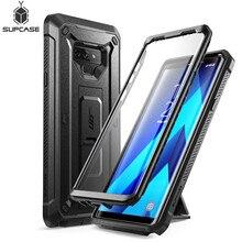 SUPCASE funda para Note 9 UB Pro, funda de cuerpo completo resistente con Protector de pantalla incorporado y soporte de apoyo para Samsung Galaxy Note 9