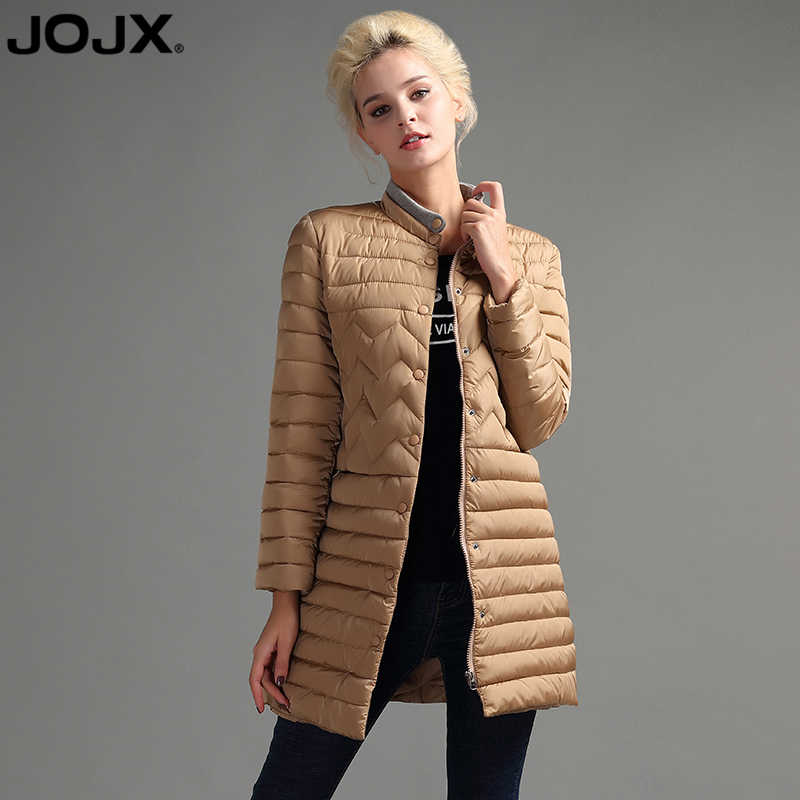 b9230417be139 JOJX весна/осень новая мода куртка Slim Для женщин тонкая парка Для женщин Зимняя  теплая
