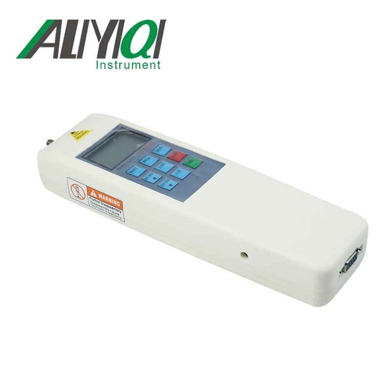 Aletler'ten Kuvvet Ölçme Cihazları'de ALIYIQI dijital çekme kuvvet göstergesi test cihazı (HF 50N); 5 kg  11Lb ölçüm araçları title=