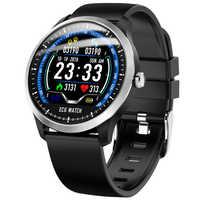 Support ECG Measurement PPG Smart Watch Men Women Heart Rate Monitor Fitness Tracker Running Sports Watch Men Smart Watch Clock