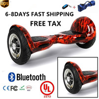 2016 Hot Sale Smart 10 Inch 2 Wheel Self Balancing Electric Scooter Big Tire Hoverboard