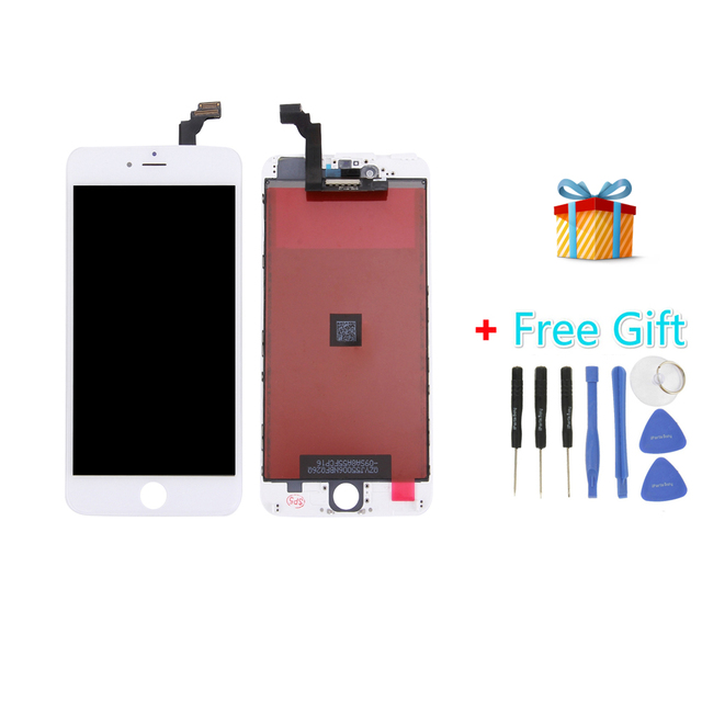 iPartsBuy 3 in 1 for iPhone 6 Plus (LCD + Frame + Touch Pad) Digitizer Assembly