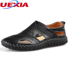 Mens Shoes Summer Hollow Out Handmade Footwear Soft Leather Flats Loafers Male Shoe Driving Casual Moccasins Zapatilla Hombre