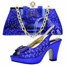 e507768b93ee Shoes and bag to match women sandals shoes and bag aso ebi 2018 fashion  shoes and bag set matching fushia hot pink SB8185-4