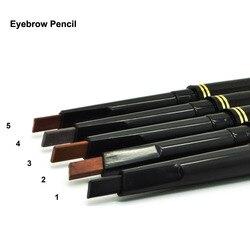 1 шт. Горячая продажа водостойкая стойкая макияж черный коричневый карандаш для бровей автоматический карандаш Профессиональный глаз косм...