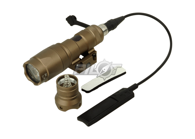 ФОТО ELEMENT SF M300A MINI SCOUT LIGHT (Tan) M300A LED Mini Scout Flashlight FREE SHIPPING(ePacket/HongKong Post Air Mail)