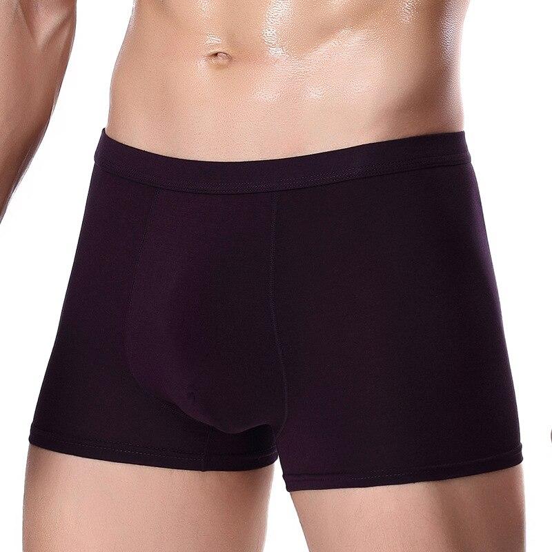 Unterwäsche & Schlafanzug Herren-unterwäsche Nw65 Boxer Shorts Männer 4 Teile/los Unterwäsche Komfortable Boxer Hombre Herren Unterwäsche Boxer Solide Unterhose